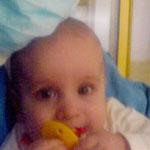 Andrea neuroblasztómás kislány
