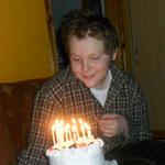 Mátyás 14 éves beteg kisfiú