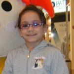Réka hét éves beteg kislány