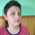 Sándor 13 éves hallás sérült és enyhén szellemi fogyatékos kisfiú