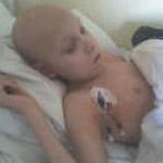 Zsolt 12 éves, agydaganattal műtötték