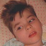Zsombor mozgásfogyatékos és epilepsziás kisfiú